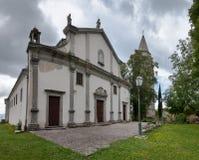 Church of Sv Vida Modesta i Kresencije at Gracisce Royalty Free Stock Image