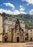 The church of Sveti Luka. Kotor city, Montenegro Stock Images