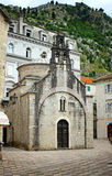 Church of Sveti Luka in Kotor, Montenegro Royalty Free Stock Images