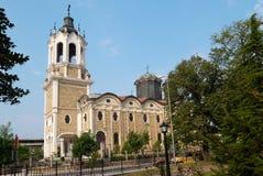 The church in Svishtov, Bulgaria. The orthodox church in Svishtov town, Bulgaria Royalty Free Stock Photo