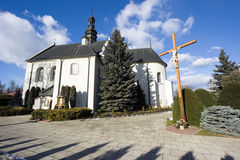 Church sw. Piotra i Pawla in Kije Royalty Free Stock Images