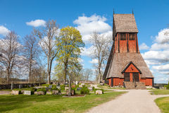 Church in Sweden Stock Photography