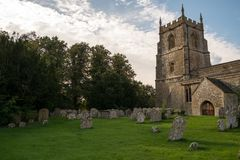 Church in Swindon. An amazing and picturesque Church in Liddington, close to swindon Wiltshire stock photo