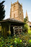 Church in Swindon. An amazing and picturesque Church in Liddington, close to swindon Wiltshire royalty free stock image