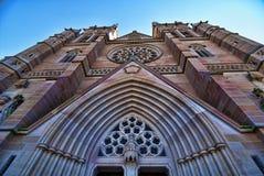 Church in Sydney, Australia. Detail of a Church in Sydney, Australia, 2009 Stock Photos