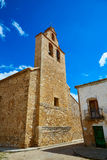 Church in Talayuelas Cuenca at spain Royalty Free Stock Photography