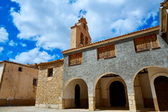 Church in Talayuelas Cuenca at spain Stock Images