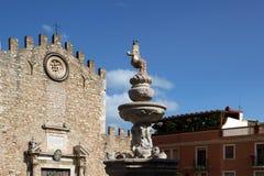 Church in Taormina, Sicily, Italy Stock Photo
