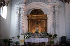 Church in Taormina, Sicily, Italy Royalty Free Stock Images