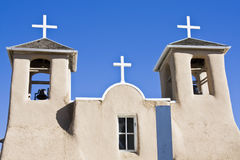 Church in Taos. New Mexico Royalty Free Stock Photography