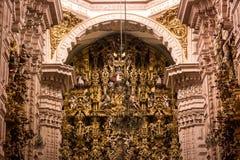 Church of Taxco, Guerrero. Mexico. Inside Royalty Free Stock Photos