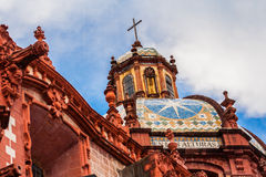 Church of Taxco, Guerrero. Mexico. Outside Royalty Free Stock Images