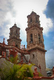 Church of Taxco, Guerrero. Mexico. Outside Stock Photos
