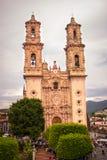 Church of Taxco, Guerrero. Mexico. Outside. Stock Photo