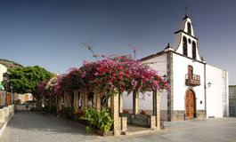 Church in Tazacorte (La Palma, Canary Islands) Royalty Free Stock Photos
