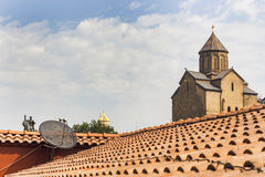 Church in Tbilisi Stock Photography
