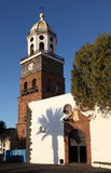 Church of Teguise, Lanzarote Stock Images