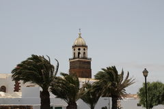 A church in Teguise Stock Image