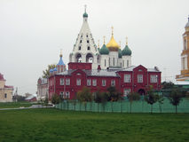 Church, temple. Christian church in Kolomna, Russia Stock Images