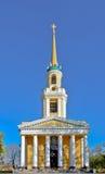 The church, temple, cathedral. Spaso-Preobrazhensky Cathedral  Dnepropetrovska. Ukraina Royalty Free Stock Image
