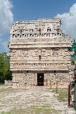 The Church Temple Chichen Itza Mexico Royalty Free Stock Photo