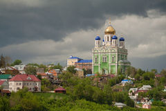 Church Temple, Elets, Russia Stock Photo