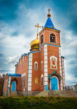 Church. The temple of the icon of the blessed virgin Mary Royalty Free Stock Photography
