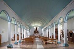 Church of Tenaun, Chiloe Island, Chile Stock Photography