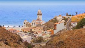 Church in Tenerife at Canary Islands stock footage