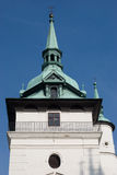 Church in Teplice, Czech republic Stock Photography