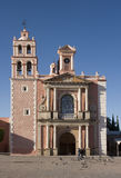 Church of Tequisquapan Royalty Free Stock Image
