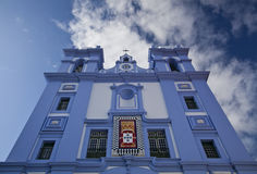 Church on Terceira Royalty Free Stock Images