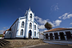 Church on Terceira. Typical church on Terceira on Azores Stock Photography