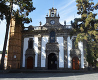 Church in teror Royalty Free Stock Photo