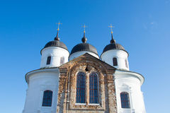 Church. On the territory of the Annunciation Monastery in Nezhin, Ukraine Stock Image