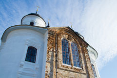 Church. On the territory of the Annunciation Monastery in Nezhin, Ukraine Royalty Free Stock Photos