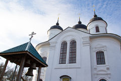 Church. On the territory of the Annunciation Monastery in Nezhin, Ukraine Royalty Free Stock Images