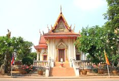 Church of Thai arts Royalty Free Stock Photos