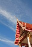 Church in Thai Temple. Stock Photography