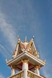 Church in Thai Temple. Stock Photos