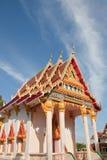 Church in Thai Temple. Stock Photo