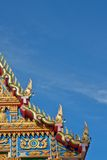 Church in Thai Temple. Royalty Free Stock Image