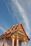 Church in Thai Temple. Royalty Free Stock Images