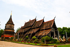 Church of Thai temple Royalty Free Stock Images