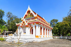 Church of Thai temple in east of Thailand Royalty Free Stock Photos