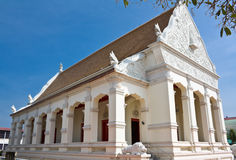 Church  of Thai temple in north-east of Thailand Royalty Free Stock Image