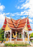 Church of Thai temple in north-east of Thailand Royalty Free Stock Photo