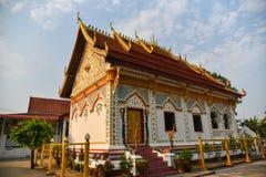 Church in Thai temple Stock Photos