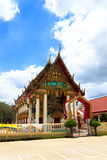 Church of Thai temple in thailand Royalty Free Stock Photos