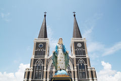 Church in Thailand Stock Photo